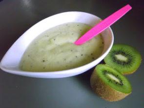 Mus jabłkowy z kiwi (z opcją kaszki/smoothie)