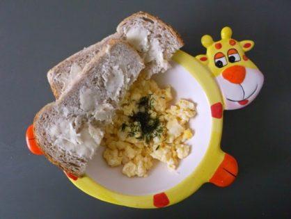 Jajecznica na parze