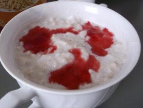 Owsianka ,,na jogurcie''